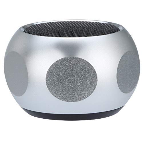 OPAKY Mini tragbarer Bluetooth + FM MP3-Lautsprecher Laden Musik Subwoofer SuperBass Stereo auf für iPhone, Samsung usw