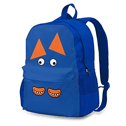Funny Monster Face Bolsas a Granel Cinch Sacks Mochila Pull String Bags 12.6x16.5 Inch
