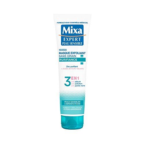 Mixa Expert Peau Sensible - Masque Exfoliant Sans Grain Purifiant - 150 ml