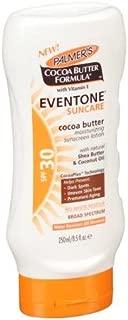 Palmer's Cocoa Butter Formula With Vitamin E, Eventone Suncare Sunscreen Lotion, SPF 30, 8.5 Fl Oz (Pack of 3)