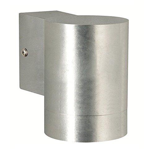 1–17–Lámpara de pared en indirecta verzink–3W GU10y linterna LED