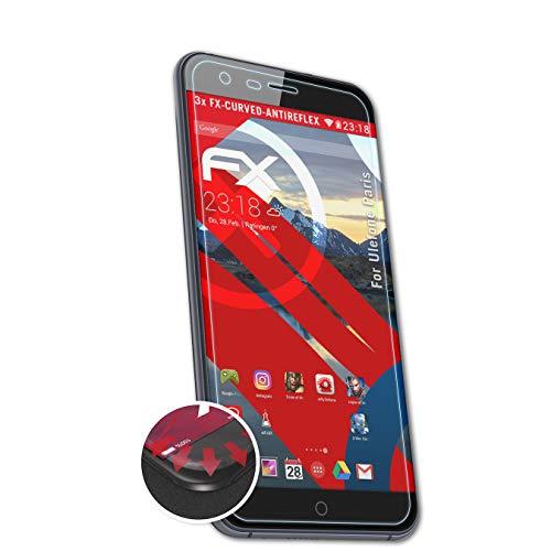 atFolix Schutzfolie kompatibel mit Ulefone Paris Folie, entspiegelnde & Flexible FX Bildschirmschutzfolie (3X)