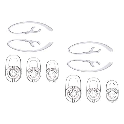 H HILABEE 10PCS SML Earbuds Earhooks Earloops Earclips Ear Hook Loop für Plantronics M70 Bluetooth Wireless Headset