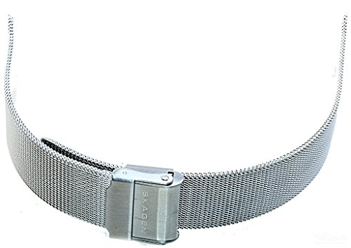 Original Skagen Denmark Uhren Armband 233SSS Ersatzband Band ohne Uhr Mílanaise