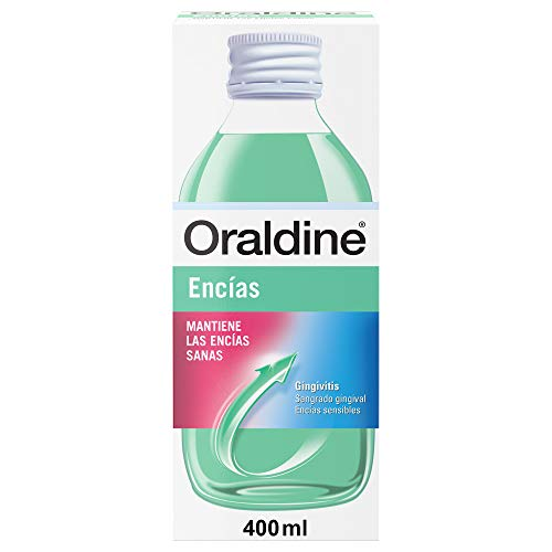 Oraldine Encías, Colutorio de Uso Diario Anti-Gingivitis, para Encías Sensibles, 400 ml