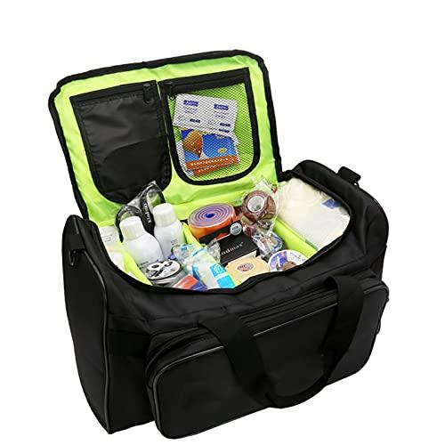 WANGXNCase Bolsa de Primeros Auxilios, Bolsa Compacta Botiquín Correr Senderismo Utilidad para el Lugar de Trabajo en el hogar Camping Viajes(Solo Paquete vacío)
