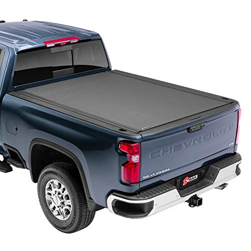 """BAK Revolver X4 Hard Rolling Truck Bed Tonneau Cover   79330   Fits 2017 - 2021 Ford Super Duty 6' 10"""" Bed (81.9"""")"""