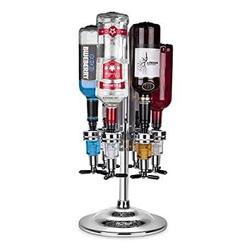 Final Touch 6 Bottle Rotating Liquor Dispenser / Bar Caddy  FTA1816