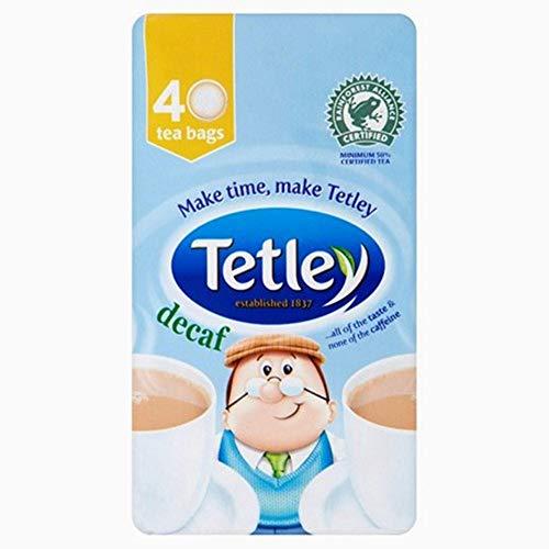 Tetley Original Descafeinado Té - 40 bolsitas