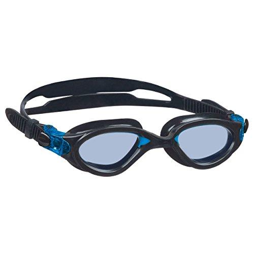 Beco wedstrijdzwembril Auckland duikbril anti-condens zwart turquoise