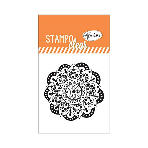 Aladine 04386 Stampo Clear Individuel Mandala 2