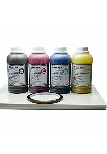 Start kit Sublimazione per stampante WF7110: inchiostri 250mlx4 + 2 risme carta sublimatica A4 + nastro termo resistente + kit pulizia testina