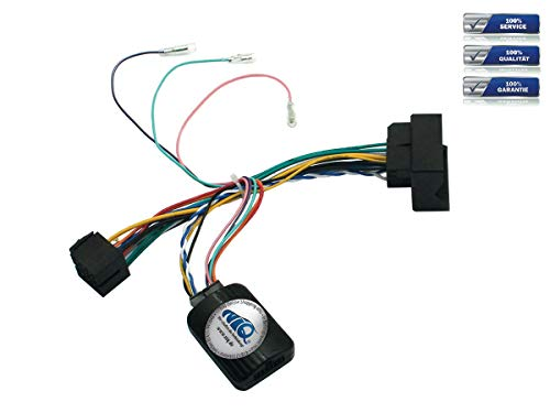 NIQ CAN-Bus Adapter geeignet für Peugeot 207 | 208 | 307 | 308 | 407 | 607 | 807 | 3008 | 5008 | Partner | RCZ mit Quadlock-Anschluss