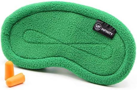 Wild Essentials Infinity Fleece Luxury Sleep Mask Green Goddess product image
