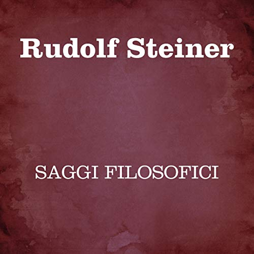 Saggi filosofici cover art