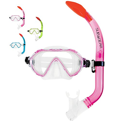 SUBGEAR da Seemann Spider Set / capretti dei bambini boccaglio e maschera in rosa
