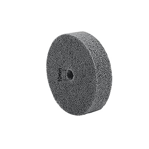 3 Inch Nylon Fiber Polishing Wheel Wool Felt Cotton Cloth Buffing Wheel Non Woven Grinding Head For Metal Wood Iron C