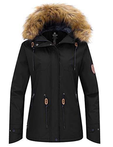 Wantdo Women's Hooded Ski Jacket...