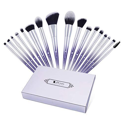 DUcare 17Pcs Make Up Pinsel Brush Set Premium Super Soft Synthetic Hair Professionelles Fantasie...