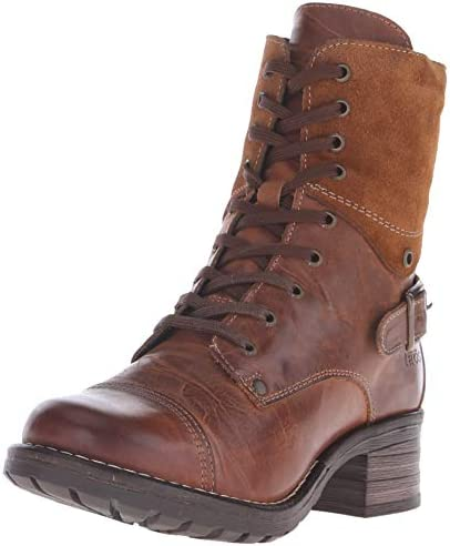 Camel leather boots _image3