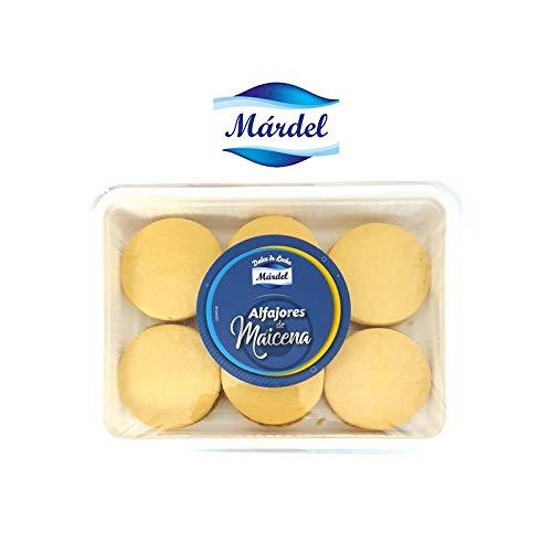 Mardel - Alfajores di amido di mais ripieno di Dulce de Leche - Manjar argentino - 2 confezioni da 6 unità - Totale 12 alfajores - 960 grammi