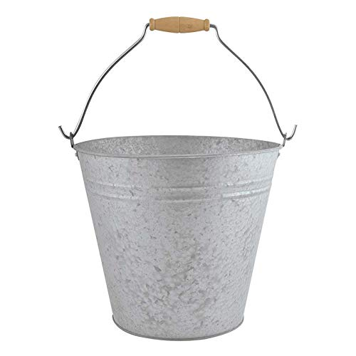Garlivo - Cubo de zinc (9,5 L)
