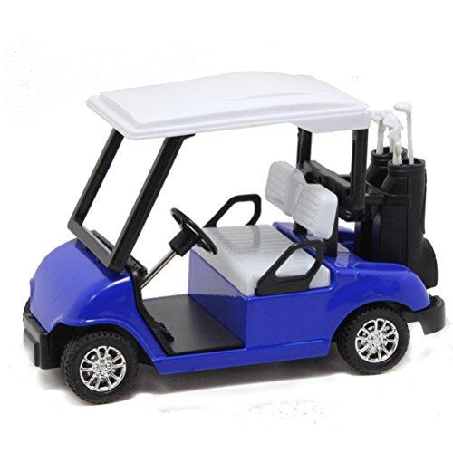 YIJIAOYUN Golf Cart Pull Back Fahrzeugmodelle Spielzeug, Die-Cast Fahrzeuge Geschenkset, ab 3 Jahren, 4,75
