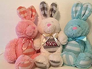 ed8e0b3c563e Adorable   Personalized   Large Easter Plush   Floppy Easter Bunny   Stuffed  Toy   Baby