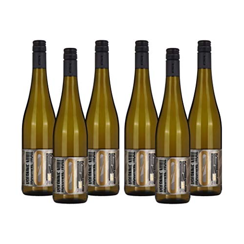 Kolonne Null - Alkoholfreier Wein (6 x 0,75 L) – Weißwein Riesling Jahrgang 2019
