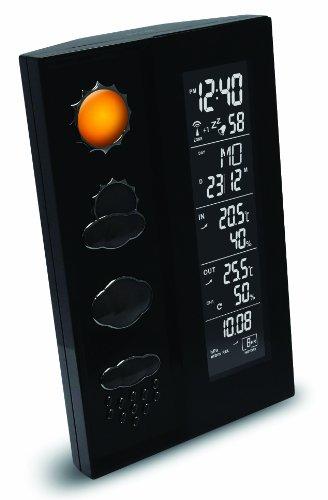Wetterstation WS 6650 mit Vorhersage von Wettersituationen und Luftdruckanzeige