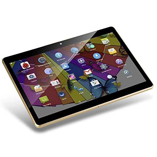 Tablet Android de 10 Pulgadas Octa Core CPU 4 GB RAM 64 GB Memoria Interna WiFi Cámara GPS Doble SIM sin Bloqueo Red 3G Tablet Negro