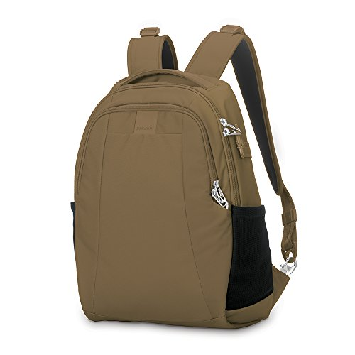 Pacsafe Metrosafe LS350 Anti-Theft 15L Backpack, Sandstone