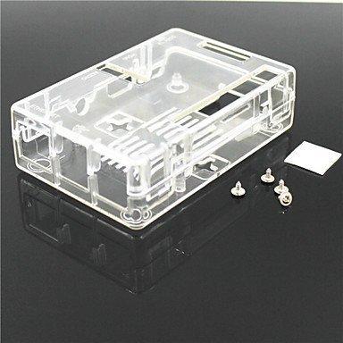 Carcasa de plástico ABS para Raspberry Pi 2 modelo B y Raspberry Pi B+, transparente