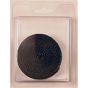 Cinta fibra de vidrio negra autoadhesiva 2,5 metros (6×3)