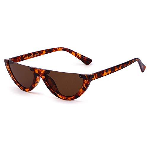Semi Rimeless Sunglasses Half Round Vintage Retro Clout Goggles