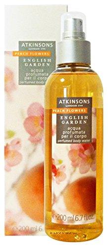 Atkinsons English garden - Peach Flowers - Acqua profumata per il corpo 200 ml