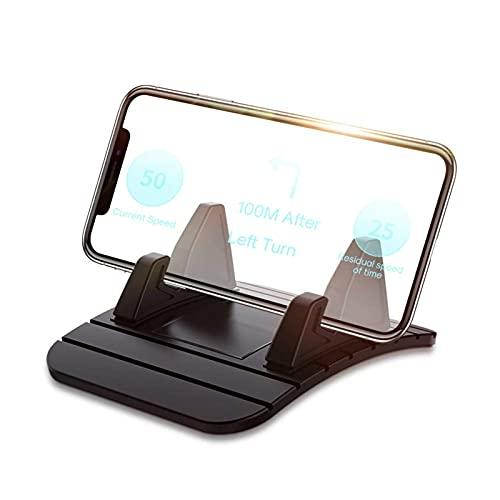 LingDian 1 unids Universal Car Tablero de instrumentos antideslizante teléfono Portífago GPS MAT anti-patín Mat de silicona Accesorios para automóvil Ajuste para teléfono móvil teléfono inteligente