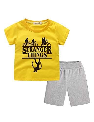 Chándal para Niños Stranger Things, Camiseta y Pantalón C