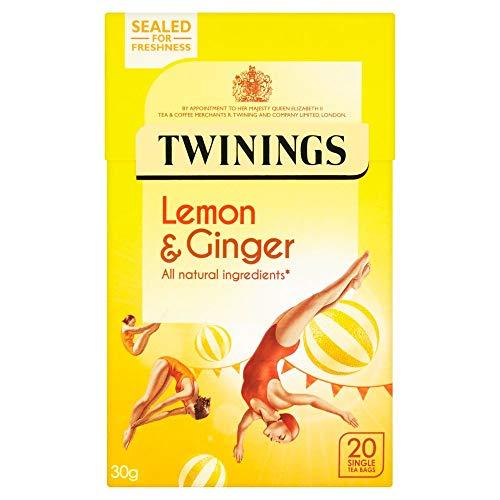 Twinings Lemon & Ginger 20s x 4