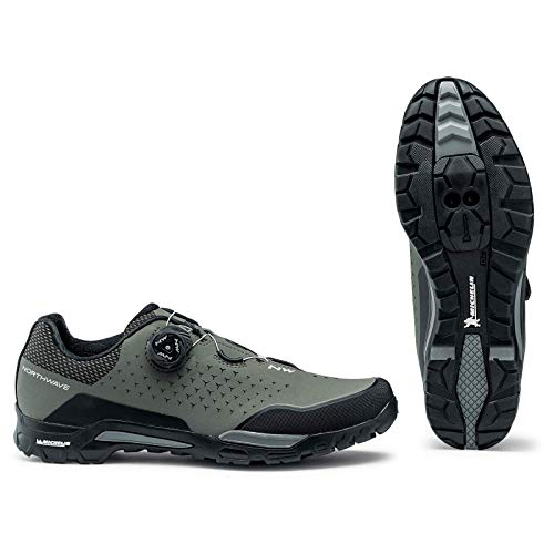 Northwave Sapatos MTB NW X-Trail Plus FRT, Zapatillas Unisex Adulto, Verde, 38 EU