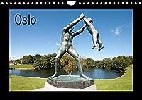 Oslo (Wandkalender 2022 DIN A4 quer): Perle des Nordens (Monatskalender, 14 Seiten )