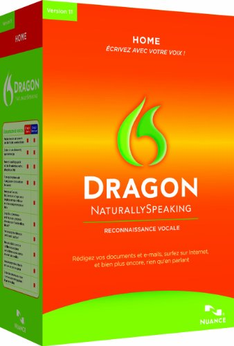 Dragon NaturallySpeaking 11 Home, French Edition (PC)