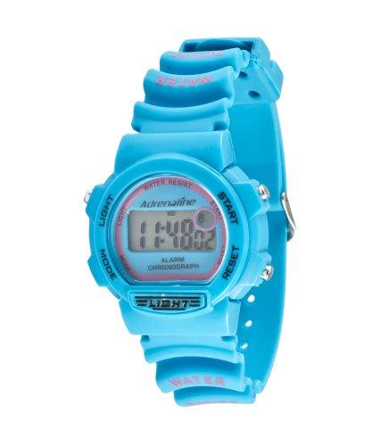 Freestyle AD50704 - Reloj Digital de Cuarzo para Mujer con Correa de Caucho, Color Azul