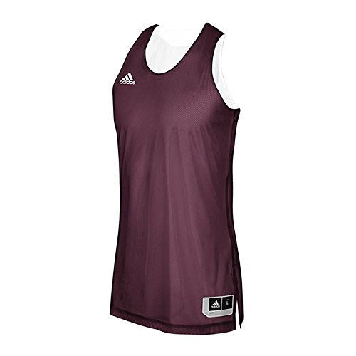 adidas Crazy Explosive Reversible Jersey - Men's Basketball L Maroon/White