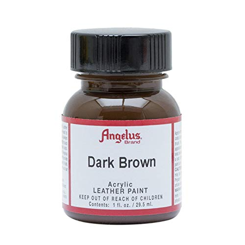 Angelus Leather Paint 4 Oz Dark Brown