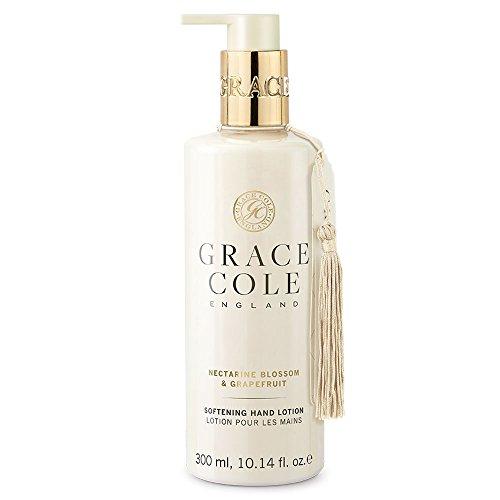 Lotion pour les mains 300ml par Grace Cole - Nectarine Blossom & Pamplemousse