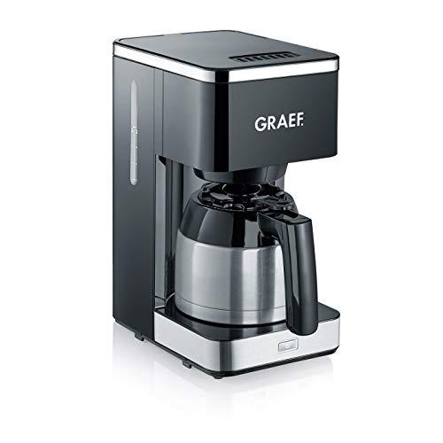 Graef - Cafetière filtre inox isotherme 12 tasses