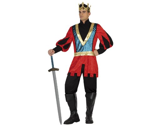 Atosa - 18310 - Costume - Déguisement De Roi Médiéval - Adulte - Taille 1