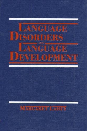 Price comparison product image Language Disorders and Language Development