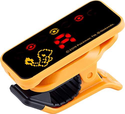 KORG Pitchclip PC2 Clip-On-Stimmgerät, chromatischer Tuner mit Klammerclip für Gitarre und Bass, Pokémon Edition Glumanda